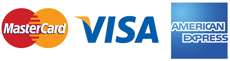 credit card we accept